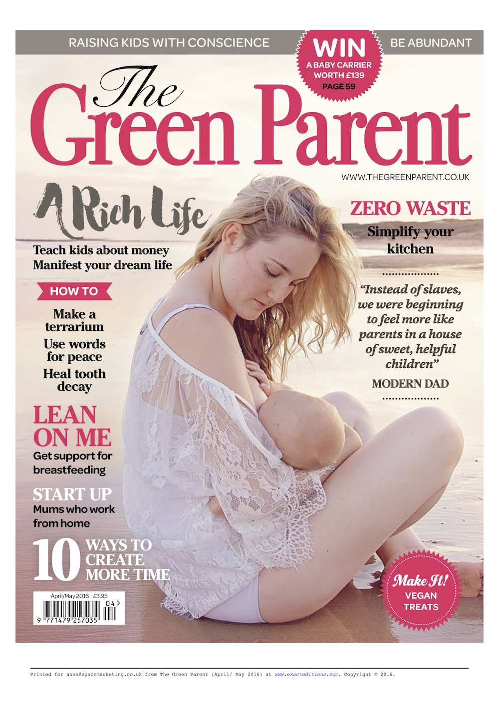 Green-Parent-aril-may issue