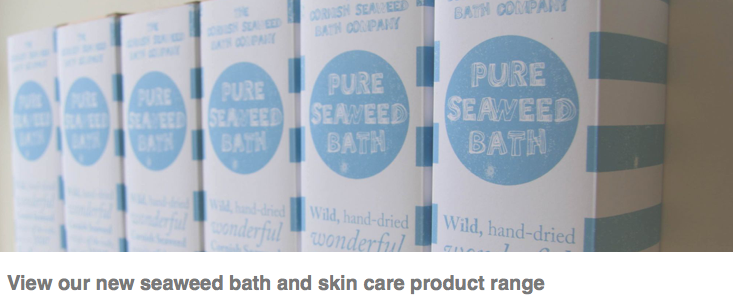 Natural Seaweed bath products