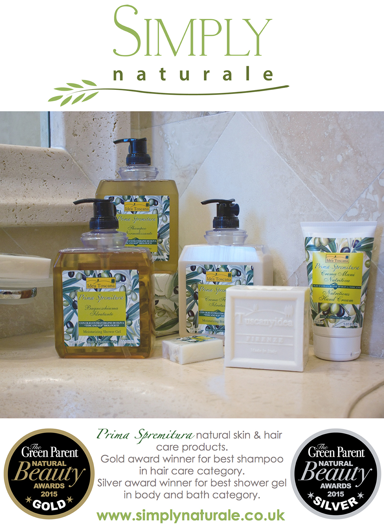 Simply Naturale - Green Parents Award