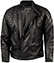 Skintan Black Leather Motorbike Jacket