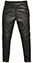 Armoured Leather Biker Trousers
